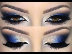 Cobalt Blue Eyeshadow