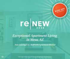 Are you looking for a relaxing community in Mesa, AZ? Look no further! 🌇 🌵 We are currently offering $250 off your first month's rent for one bedrooms! Contact us today and be our neighbor. #NowLeasing 2 Bedroom Apartment, One Bedroom, Apartment Living, How To Apply, How To Plan, Learning, Condo Living, Study, Teaching