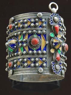 Bracelet from Kabylia, Algeria.