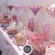 Barra de dulces, boda romantica♥
