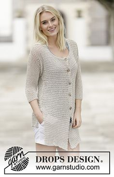 Ravelry: 159-23 Farewell Florence pattern by DROPS design