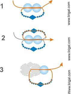 Flat Spiral Stitch Tutorial - Lirigal.com