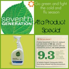Love all the Seventh Generation products