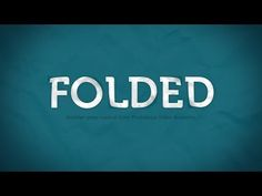 How to Create a Folded Paper Text Effect in Photoshop - Photoshop Roadmap