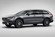 Volvo unveils its first-ever V90 Cross Country, a lifted, more rugged-looking…