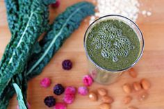 For the Love of Food: Energizing Green Smoothie