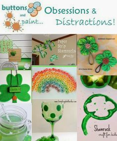 Obsessions & Distractions - St Patrick's Day