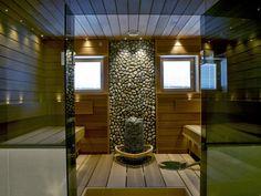 Sun Saunan Relax-laude Vaajakoskella | Sun Sauna Kotikylpylä Outdoor Sauna, Sauna Design, Finnish Sauna, Saunas, Sweet Home, Villa, Relax, Interior Design, House