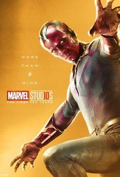 Marvel Studios kicks off its yearlong anniversary celebration. Marvel released the Posters for its Superheros. Poster Marvel, Marvel Comics, Films Marvel, Bd Comics, Marvel Heroes, Captain Marvel, Marvel Avengers, Captain America, All Marvel Characters