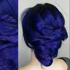 Could this be the perfect blue hair? ✴ We love the touch of…