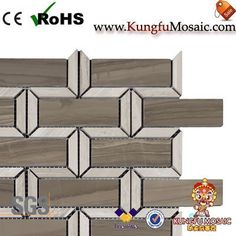 The Coffee Marble Tile Backsplash is a good mosaic tile pattern. This product in rectangle shape. Obviously, this product made of Coffee Marble. In addition, it is also with other light color marble materials. Marble Tile Backsplash, Stone Mosaic Tile, Marble Mosaic, Mosaic Tiles, Travertine, Rectangle Shape, Tile Patterns, Light Colors, Cube