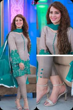 We're Best Sellers of Lawn Dresses Online for Women, providing you the Lawn Collection 2018 so you can enjoy the summer filled with Quality Fabrics. Buy Now Simple Pakistani Dresses, Pakistani Fashion Casual, Pakistani Dress Design, Pakistani Outfits, Designs For Dresses, Dress Neck Designs, Stylish Dresses For Girls, Simple Dresses, Casual Dresses
