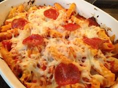 I'm A Celiac: Pepperoni Bake-I need to make this for my sister!