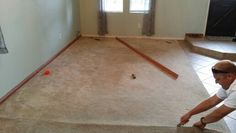 Before carpet