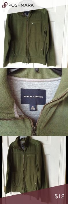 BANANA REPUBLIC JACKET Size M ❤️ Banana Republic Jacket - Forest Green in great condition. Banana Republic Jackets & Coats