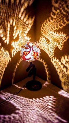 100 HANDMADE Gourd Lamp Floor Gothic Folk Art Interior Design Birthday Halloween Unique Gift Ideas Stehlampe Ottoman Lighting Bohemian