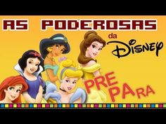 As Poderosas da DISNEY : Pre-pa-ra! - YouTube