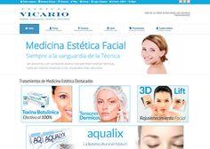 Clinicas Vicario Medicina Estetica - Awwwards Nominee