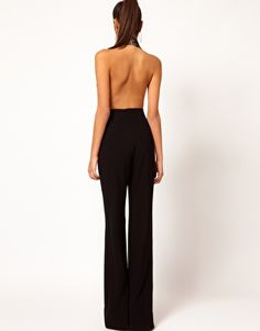Reason #3: To wear backless little numbers like this one. Back fat belongs on a pig not whilst wearing clothing articles of this caliber.