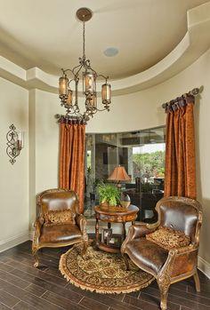 how to lighten & brighten your home's heavy, dark tuscan style