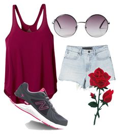 """""""Women fashion"""" by muhamed-hodzic ❤ liked on Polyvore featuring Alexander Wang, prAna, New Balance and Monki"""