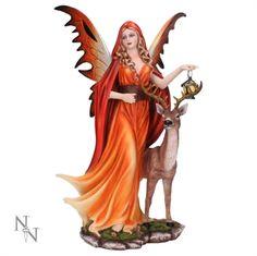 Nemesis Now Large Fairy Spirit of Autumn - 34.5cm
