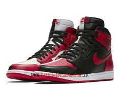 air jordan 1 noir blanc rouge