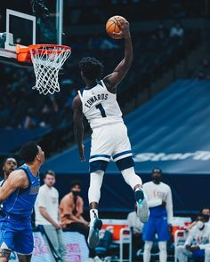 """Minnesota Timberwolves on Instagram: """"some say Ant's still rising 🐜🐜🐜"""" Nba Pictures, Anthony Edwards, Nba Wallpapers, Minnesota Timberwolves, Basketball Art, Nba Players, Guys, Sports, Instagram"""