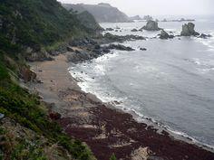 Image: Playa del Silencio, Asturias