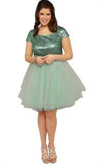 American Rag Plus Size Dress, Three-Quarter-Sleeve Polka-Dot ...