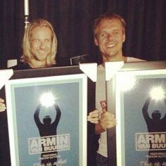Armin receives platinum record at the MuchMusic Video Awards Capital Fm, Armada Music, Kiss Fm, Uk Singles Chart, Bbc S, Steve Aoki, Best Dj, Armin Van Buuren, David Guetta