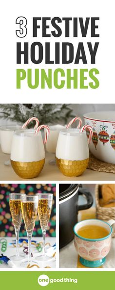 Need a quick and easy drink idea for the holidays? Look no further! Here are 3 simple holiday punch recipes that taste like Christmas in a cup.