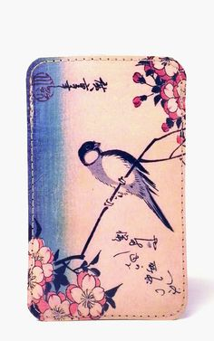 iPhone 5 Cover  Bird on a Cherry Branch  Cover by TinderandBloom