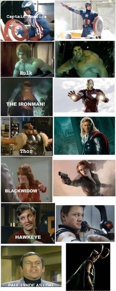 The Avengers - Then And Now