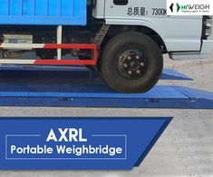 Meet your weighing needs from HiWEIGH's AXRL portable #Weighbridges of 30ton/60klb capacity. Get various platform sizes & features. For details, click @  www.hiweigh.com/product-details/axrl-portable-weighbridge