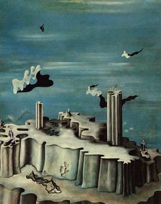 "I saw this and fell in love - Yves Tanguy ""Neither Legends, Nor Figures"""