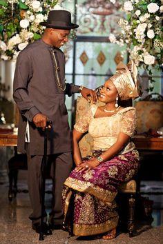 Traditional Ijaw, Nigerian wedding wear.. ~African fashion, Ankara, kitenge, African women dresses, African prints, African men's fashion, Nigerian style, Ghanaian fashion ~DKK