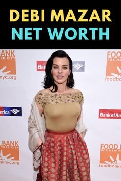 Debi Mazar is an American actress. Find out the net worth of Debi Mazar.