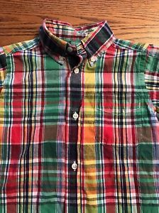 Polo, Ralph Lauren Toddler Boys Size 2T Multi Short Long Slv Shirt  | eBay