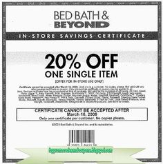 Free Printable Bed Bath and Beyond Coupons Free Printable Coupons, Free Coupons, Print Coupons, Free Printables, Pizza Coupons, Grocery Coupons, Get What You Want, How To Find Out, Popeyes Chicken