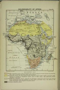 Colonizability of Africa