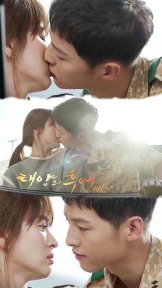 I promise that i'll there you you no matter what.... #descendant of the sun #Song Joong Ki as  Ct. Shi Jin #Song Hye Kyo as Dr. Mo Yeon