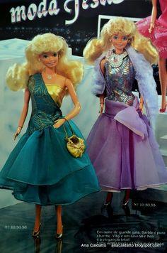 Barbie Moda Festa e Alta Costura catálogo Barbie Estrela de 1990