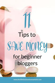 Want to start a blog but don't have a big budget? Learn 11 ways to save you money blogging in this blog post. #beginnerbloggin #startablog