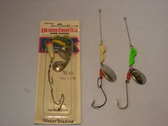 Walleye Joe always takes these lures in summer walleye fishing - especially good with a minnow or a worm on the hook and used while slowly trolling the lake in a 14 foot LUND with an old 9.9 Johnson   http://www.walleyebook.com/tackleshop/search.php?search=worm+harness