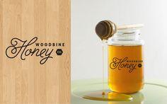 Woodbine Honey Co. Branding