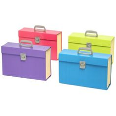 Stationery: Marbig Summer Colours Carry File