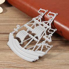 DIY El océano de navegación de papel de artesanía de metal mueren muere para Scrapbooking