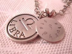 Personalized Necklace Personalized Jewelry by MarieLoveJewelry, $9.99