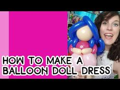Princess Balloons, One Balloon, Balloon Decorations, Characters, Canning, Dolls, Youtube, How To Make, Hair